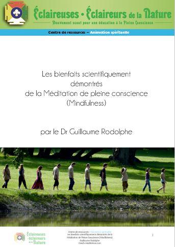 <b>Les bienfaits de la Méditation</b>