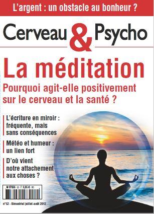 <b>Cerveau & Psycho: La méditation</b>