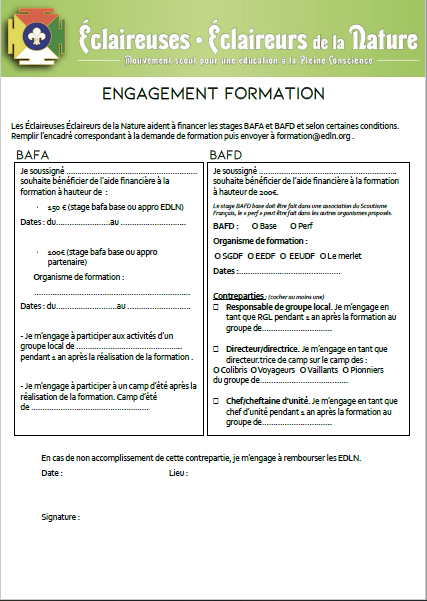 <b> Engagement Formation </b>