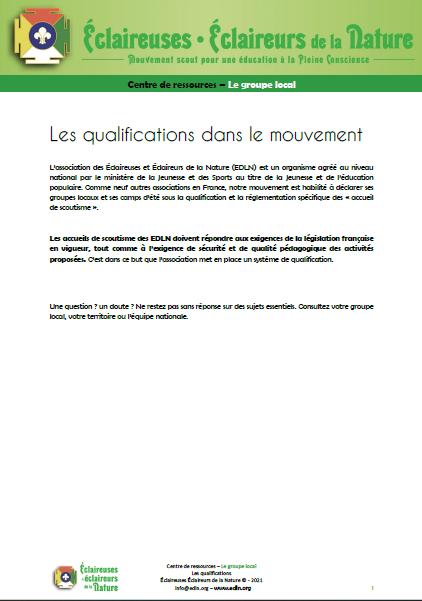 <b>Qualifications</b>